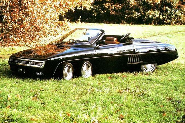 Foto Vintage Panther 6 yang Memukau, Mobil Sport Inggris Roda 6 yang Gila Dari 1977