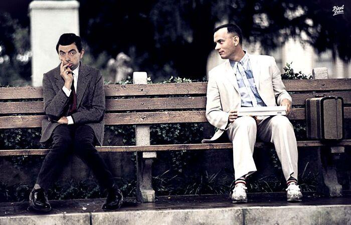 Artis Hongaria Menciptakan Adegan Lucu Dengan Menempatkan Karakter Dalam Film Atau Acara TV Yang Tidak Mereka Miliki