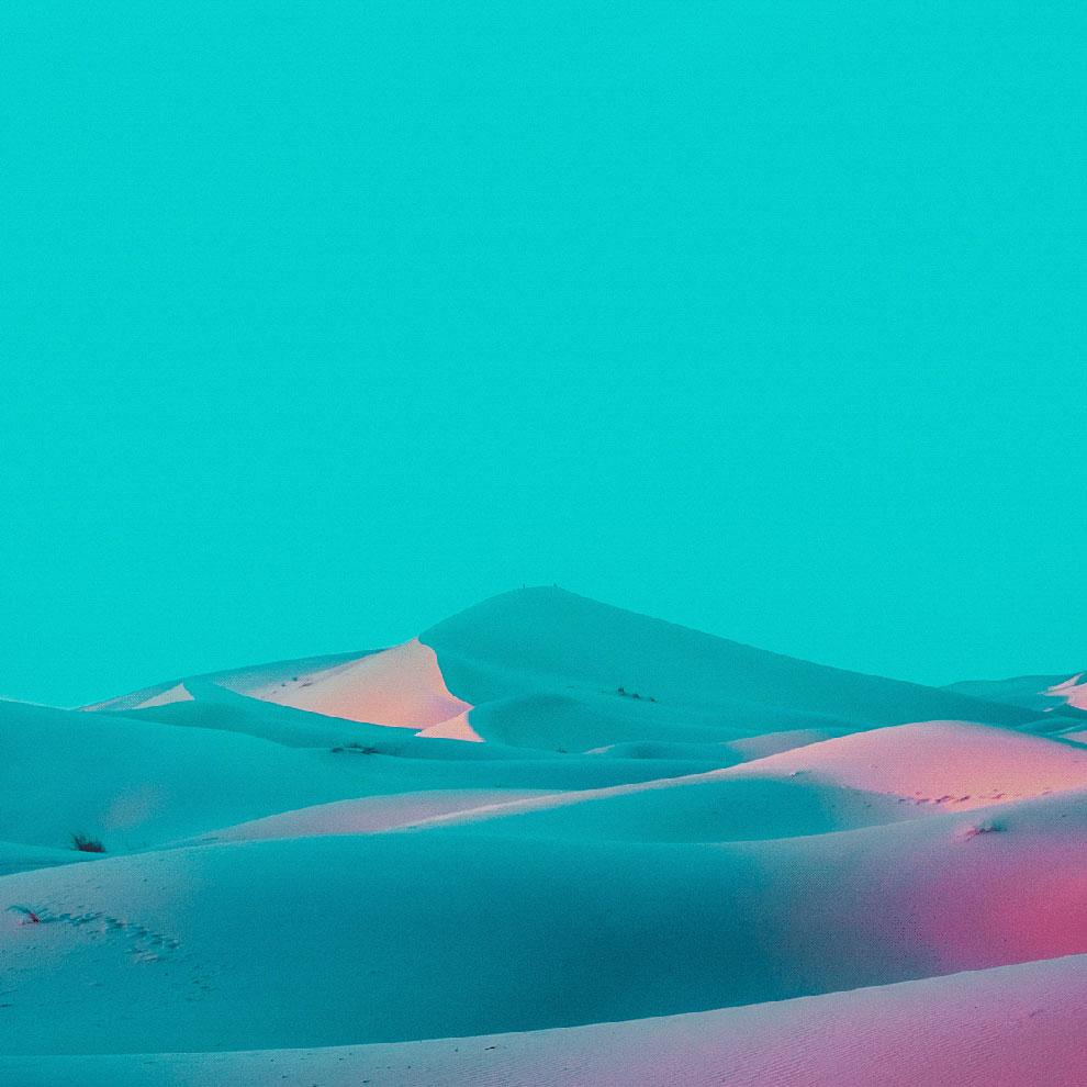 Kabut Biru: Foto-Foto Indah Gurun Pasir Oleh Mariyan Atanasov