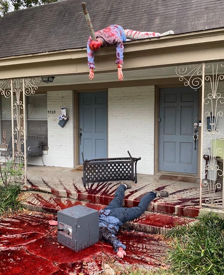Dekorasi Halloween Rumah Dallas Timur Mendorong Banyak Kunjungan Polisi