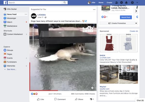 contoh platform facebook