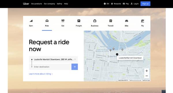 contoh platform uber