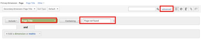 Perbaiki 404 error Seach Console