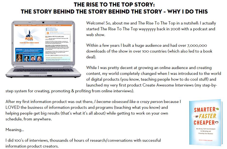 storytelling example