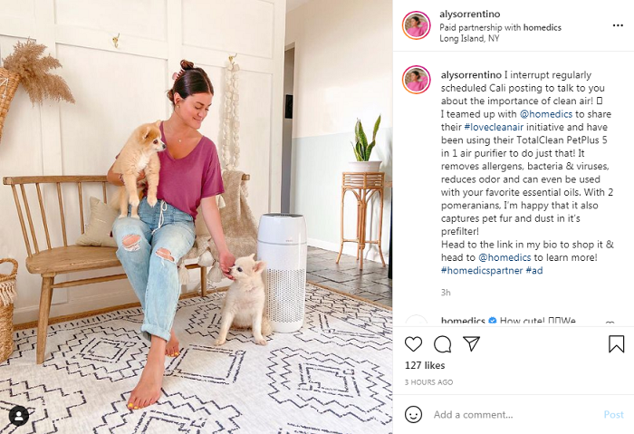 Influencers can help boost your Instagram e-commerce sales.