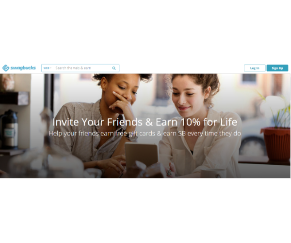 Examples of Successful Customer Acquisition - Swagbucks