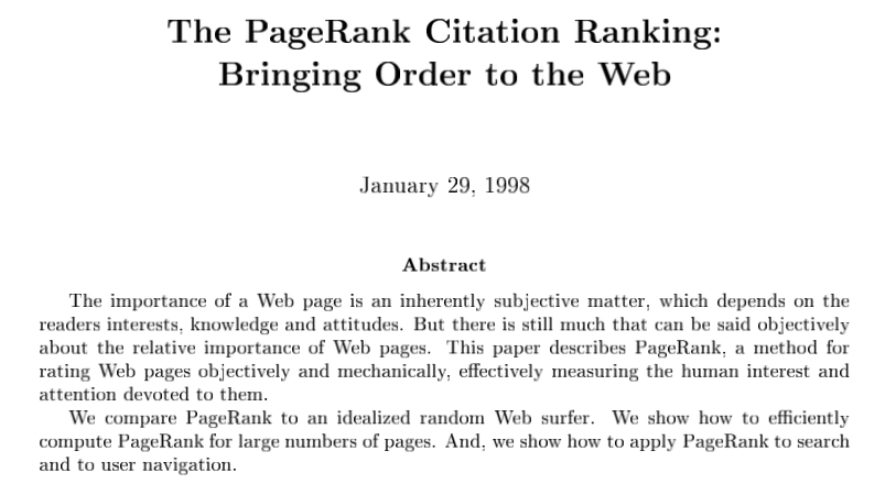 how google words why links matter paper