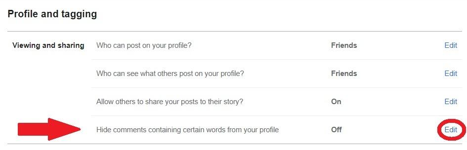 Cara menonaktifkan komentar di postingan Facebook