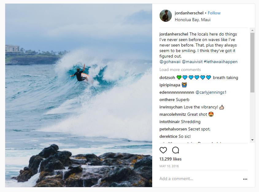 hawaii micro influencers example