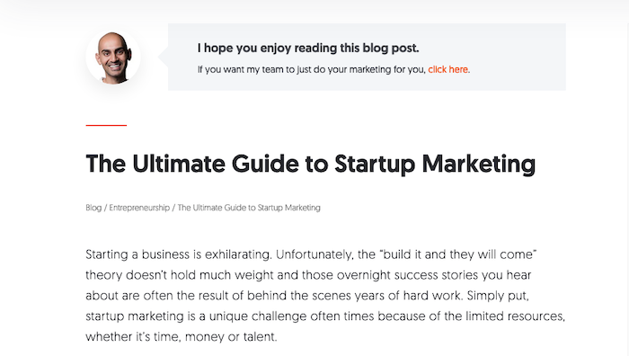 Examples of Great Content Guides - Neil Patel